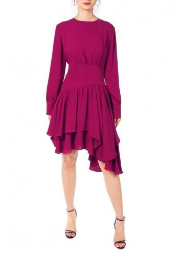 Sukienka Eleanor amarantowy