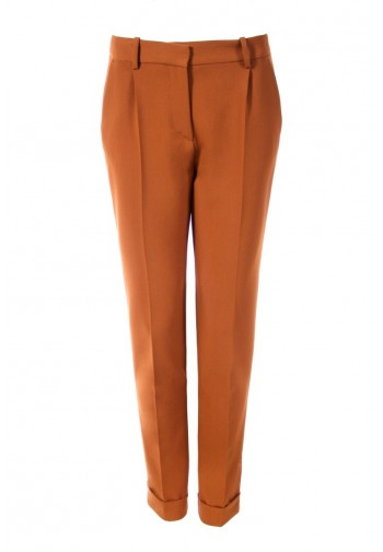 Pants Zita with cinnamon cuff