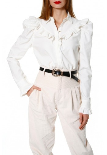 Blouse Fany Whisper White