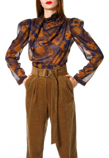 Blouse Connie Golden Brown