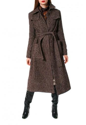 Coat Meryl Brunette