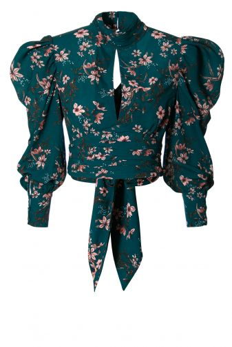 Blouse Amparo Deep Teal
