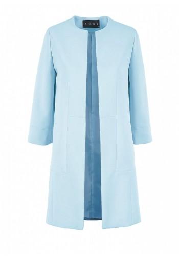 Płaszcz Calanthe błękitny...