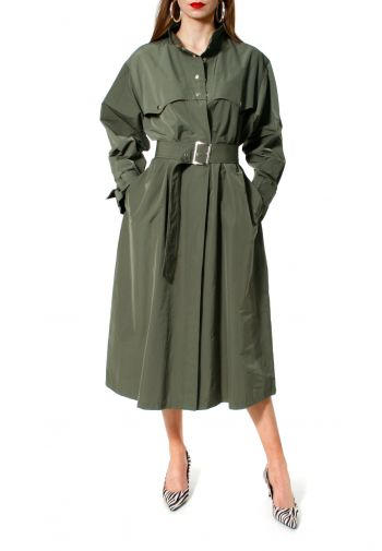 Trench-coat Vanda Khaki
