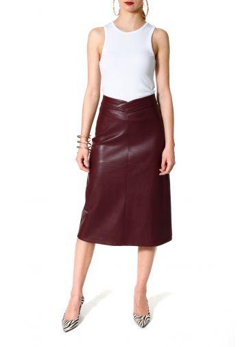 Skirt Chiara Malaga Wine