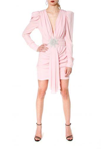 Sukienka Krystle Crystal Pink