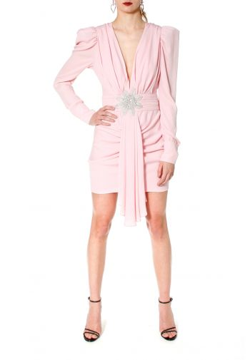 Dress Krystle Crystal Pink