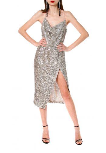 Sukienka Kim Champagne