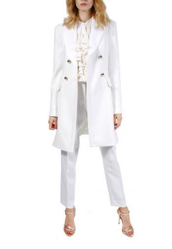 Płaszcz Bridget biały mleczny