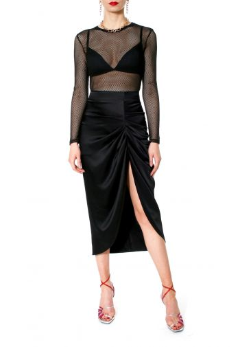 Skirt Katy Glossy Black
