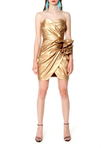 Dress Alessandra Vegas Gold