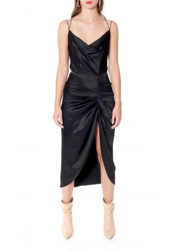 Dress Ava Glossy Black