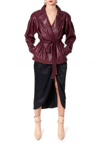 Jacket Patrizia Malaga Wine