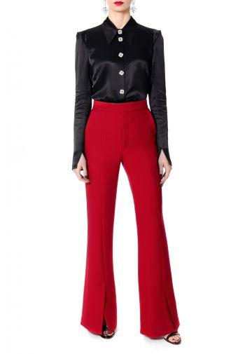 Spodnie Monica Lipstick Red
