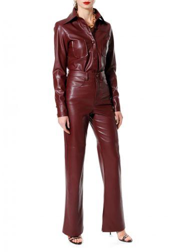 Spodnie Nora Malaga Wine