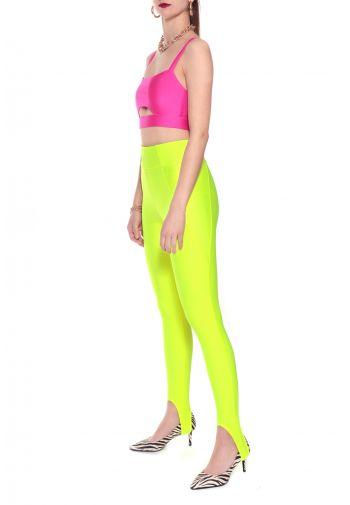 Spodnie Gia Laser Yellow
