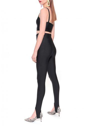 Spodnie Gia Background Black