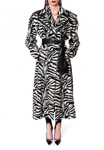Coat Maxine Monochrome