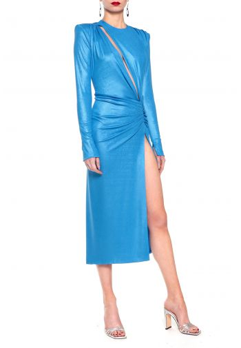Suknia Adriana Blue Aster