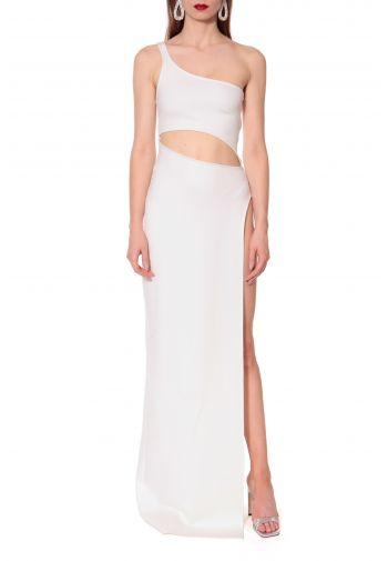 Dress Gina All White