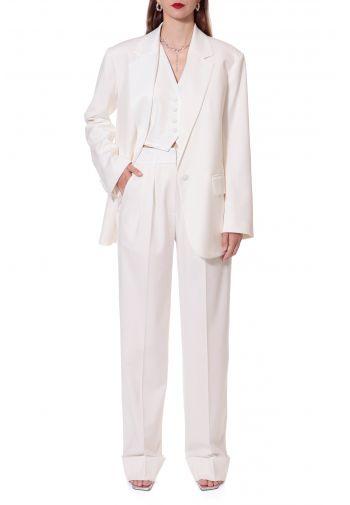 Vest Uma Aesthetic White