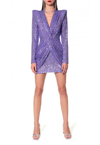 Dress Jennifer Purple Opulence