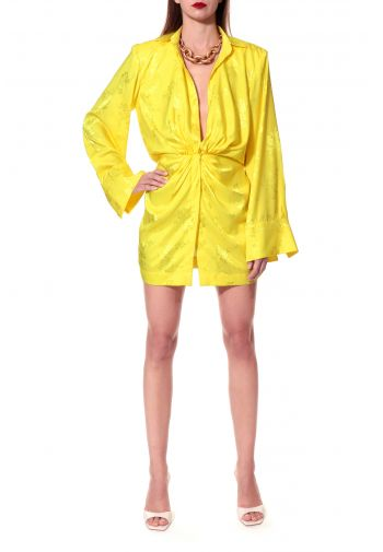 Dress Jada Yellow Twist